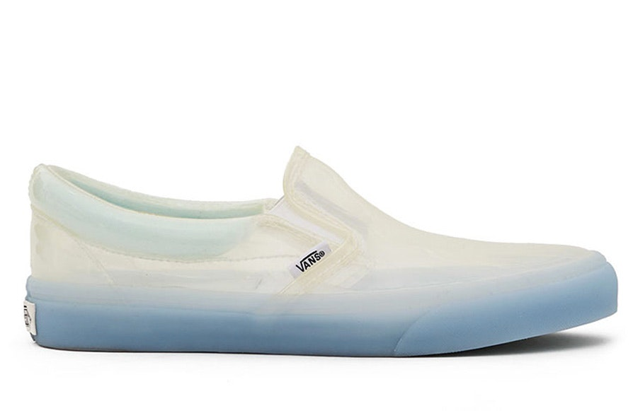 Vans X Opening Ceremony Slip On Transparent White by Stock X