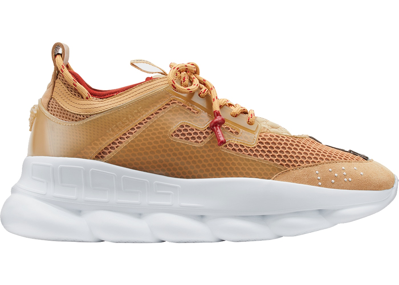 2a597d511cdc Sell. or Ask. Size  15. View All Bids. Versace Chain Reaction 2 Chainz Tan