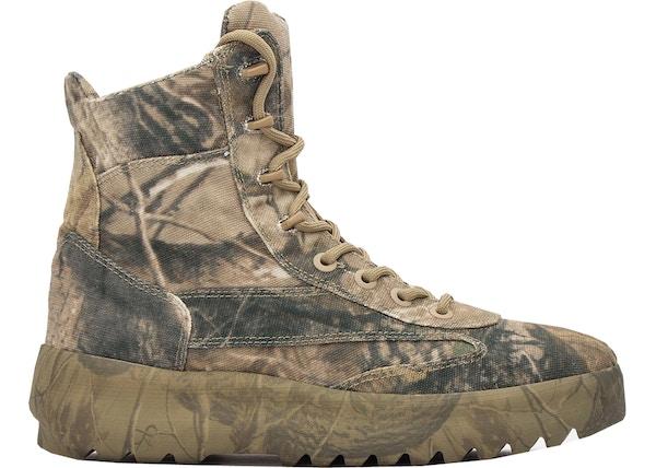 47ff23e3cab19 Yeezy Canvas Military Boot Season 6 Camo - TBD