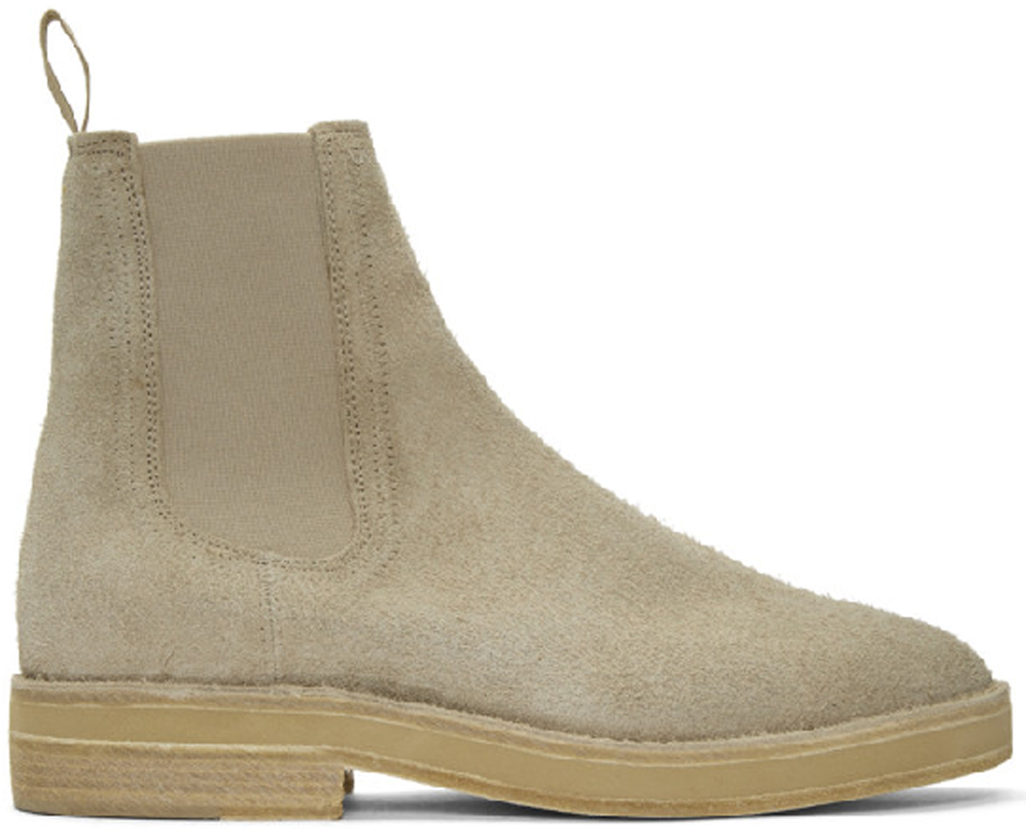 Yeezy Chelsea Boot Thick Shaggy Suede