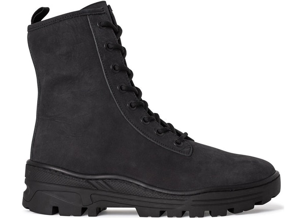 e0bc53b7338 Yeezy Nubuck Boot Season 5 Graphite Black - KM4003-136