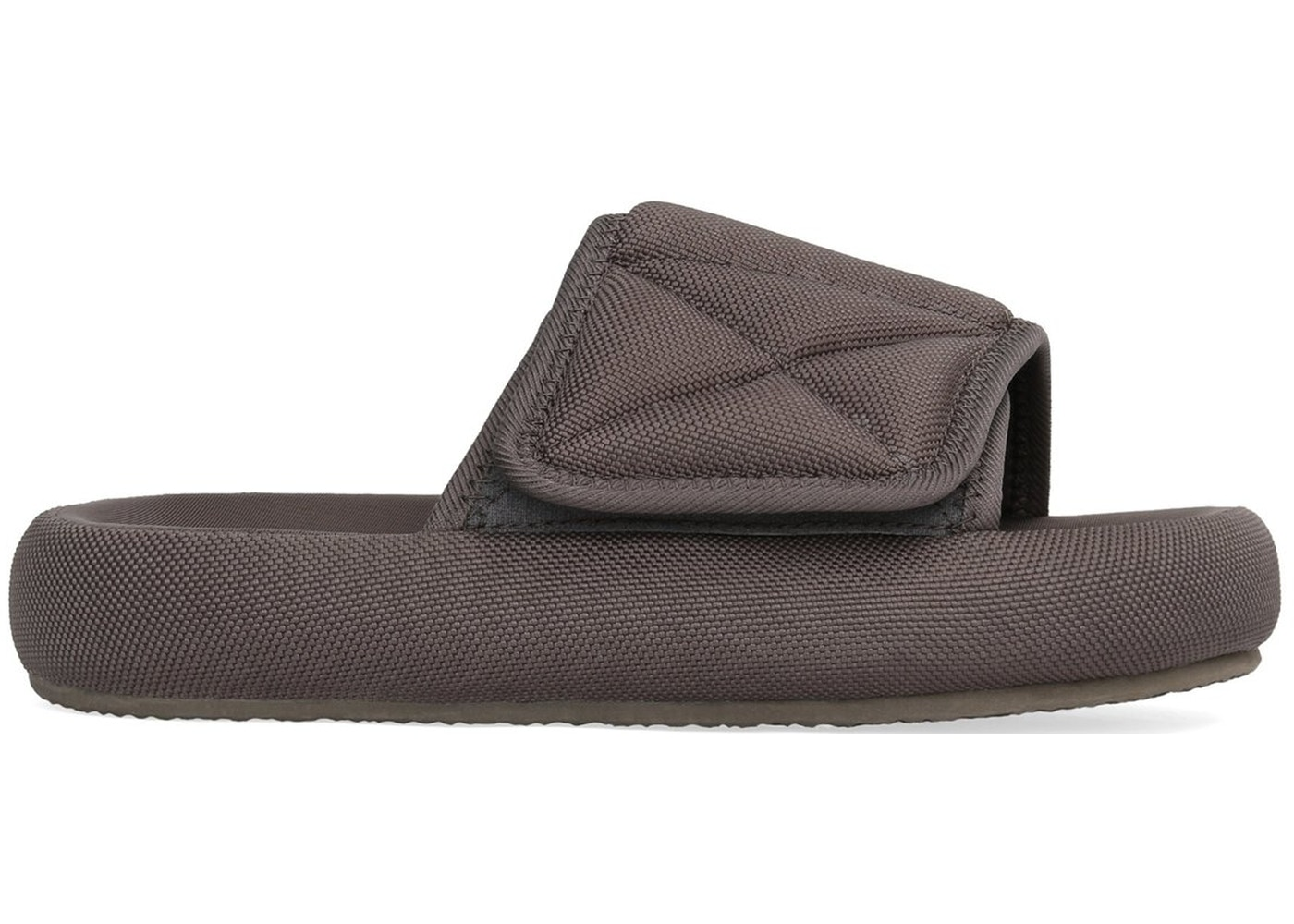 687ffbc59 Sell. or Ask. Size  37. View All Bids. Yeezy Nylon Slipper Graphite ...