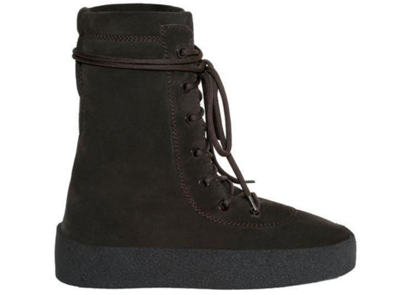 ddda3794462 Yeezy Military Crepe Boot Oil