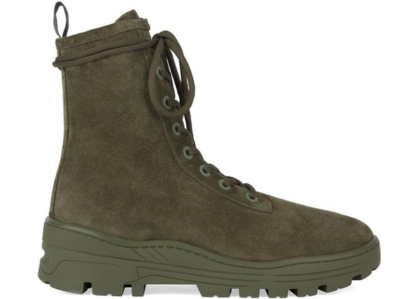 92c763220 Yeezy Thick Suede Combat Boot Military (Season 6) - KM5015.065