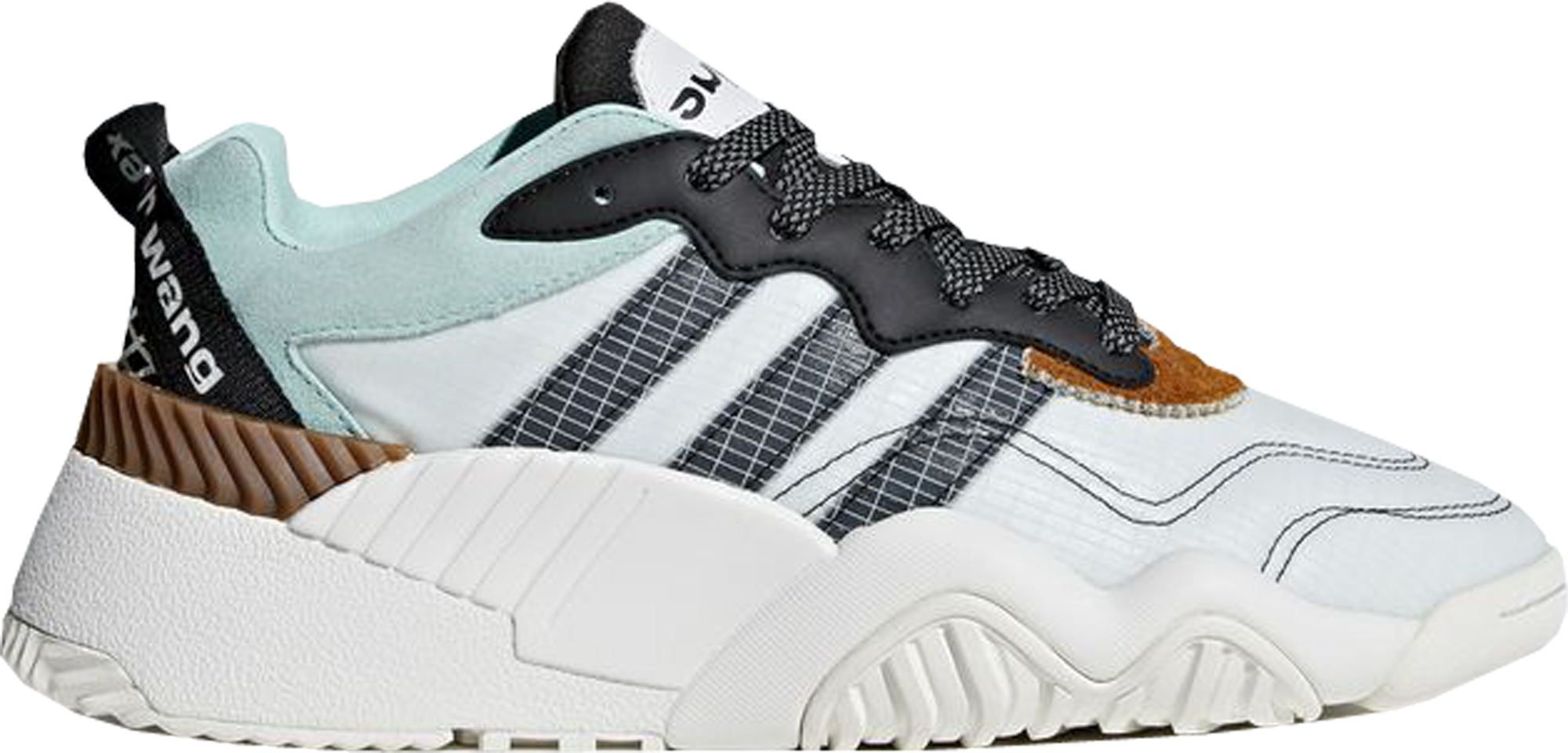 adidas AW Turnout Trainer Alexander Wang Clear Mint Core Black