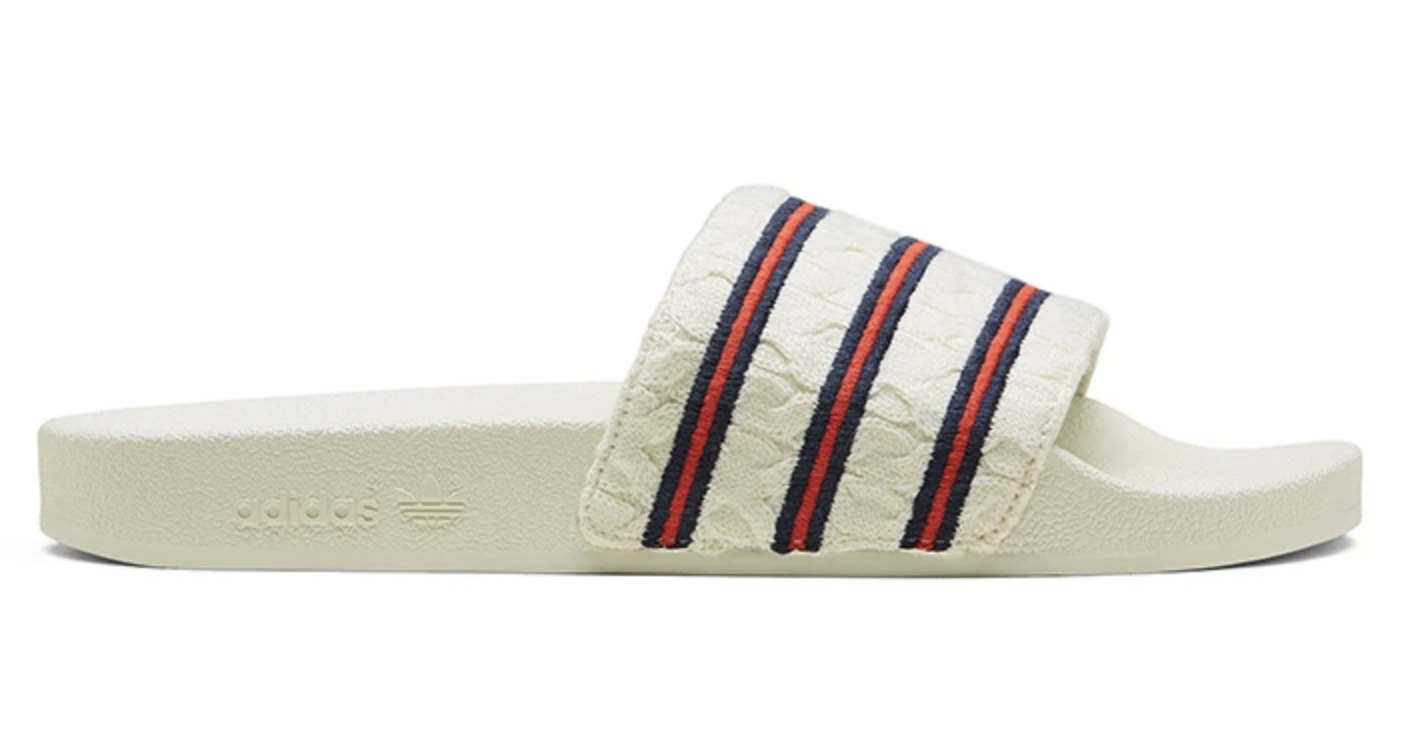 adidas Adilette Extra Butter Cableknit