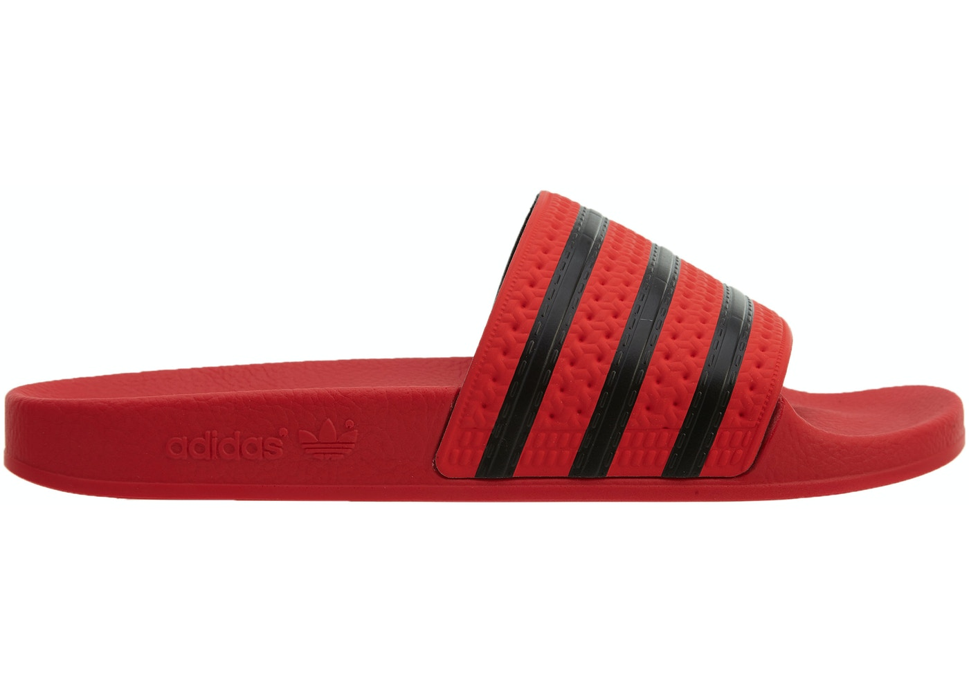 a1b0d2a7120d adidas Adilette Real Coral Black-Real Coral - CQ3098