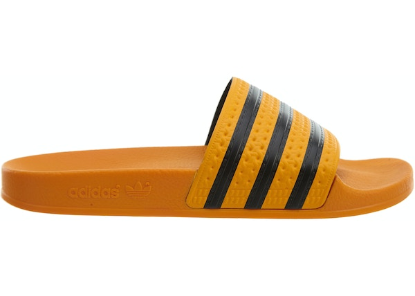 new arrivals 34b50 32566 LOWEST ASK. --. adidas Adilette Real Gold Core Black-Real Gold