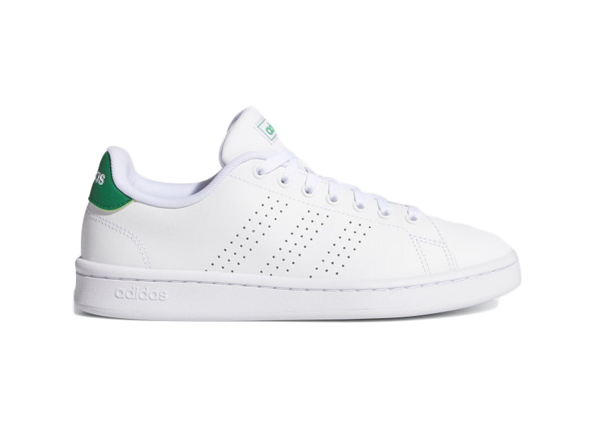 adidas Advantage Cloud White Green (W