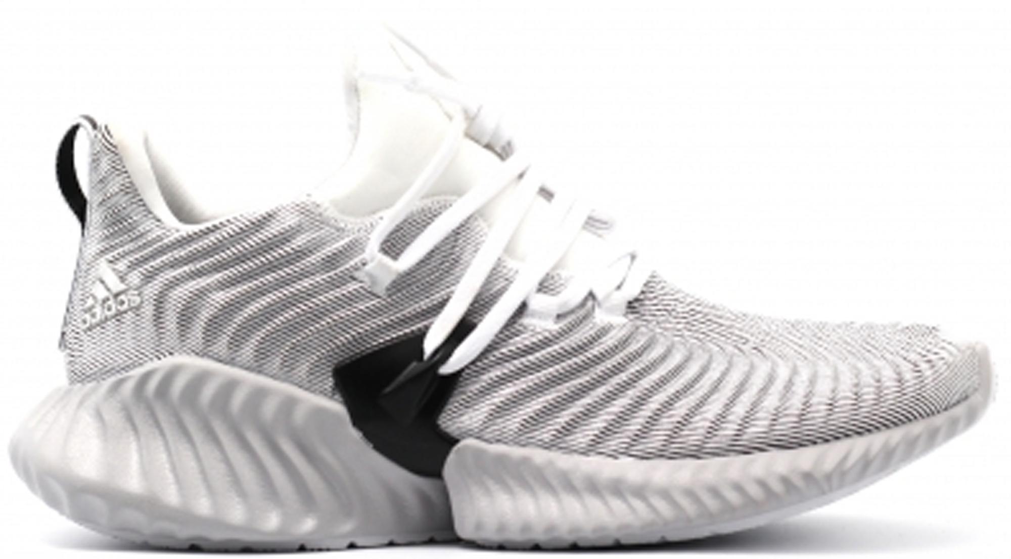 adidas Alphabounce Instinct Cloud White Grey Two (W)
