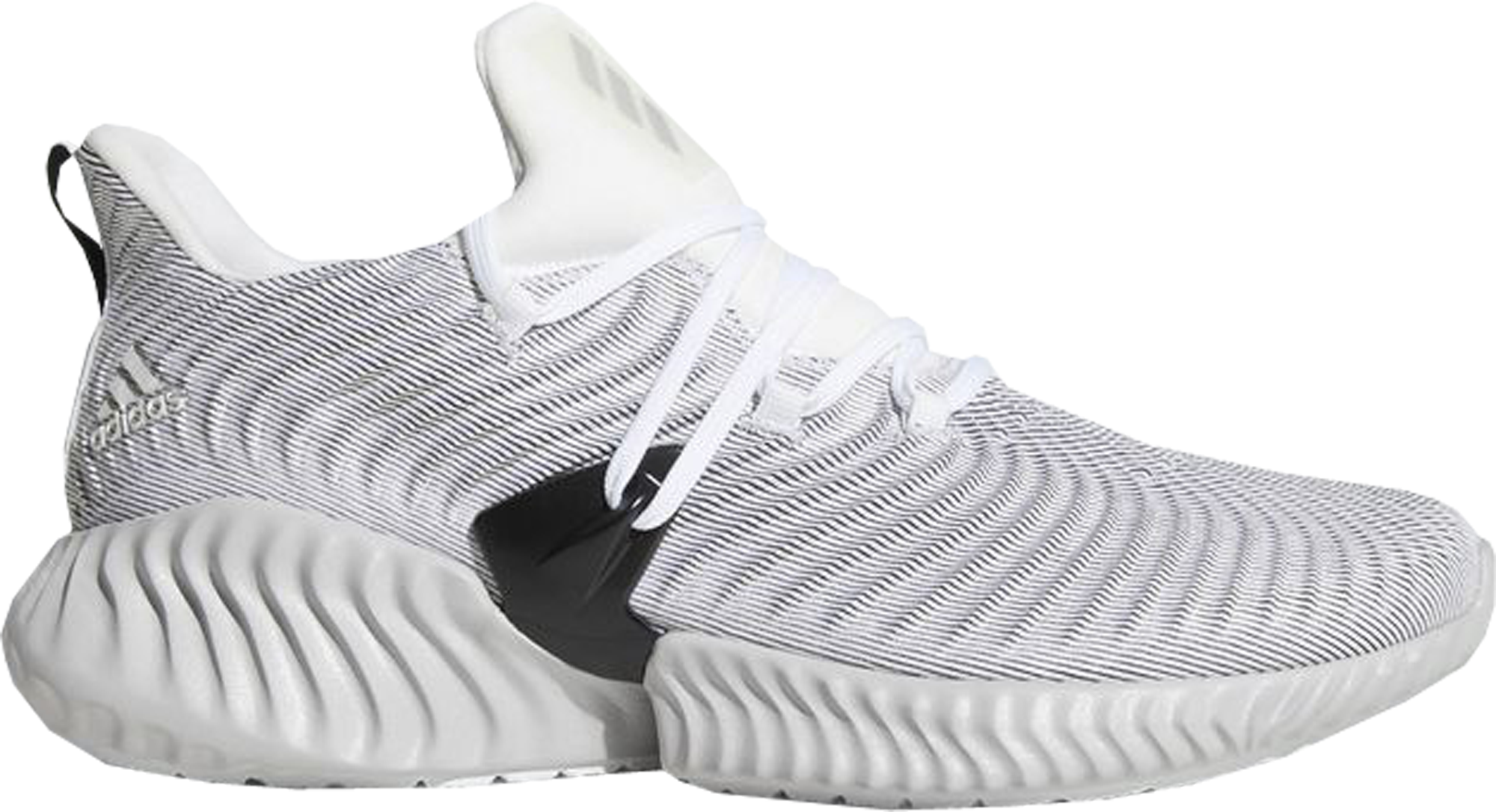 adidas Alphabounce Instinct Cloud White Grey Two