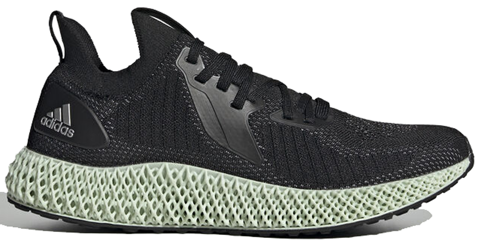 Adidas Alphaedge 4 D Reflective Black by Stock X