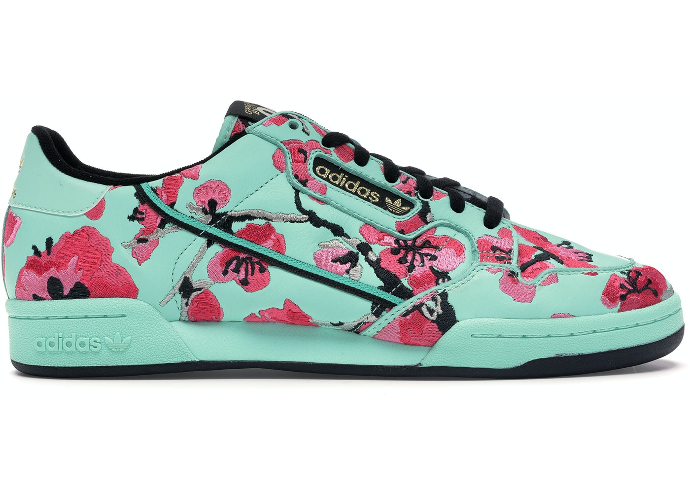 28c834c1 adidas Continental 80 AriZona Green Tea Ginseng - Sneakers