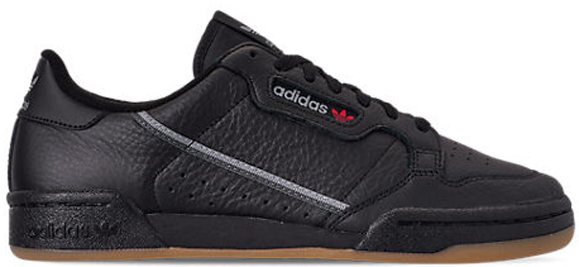 adidas Continental 80 Black Gum - BD7797