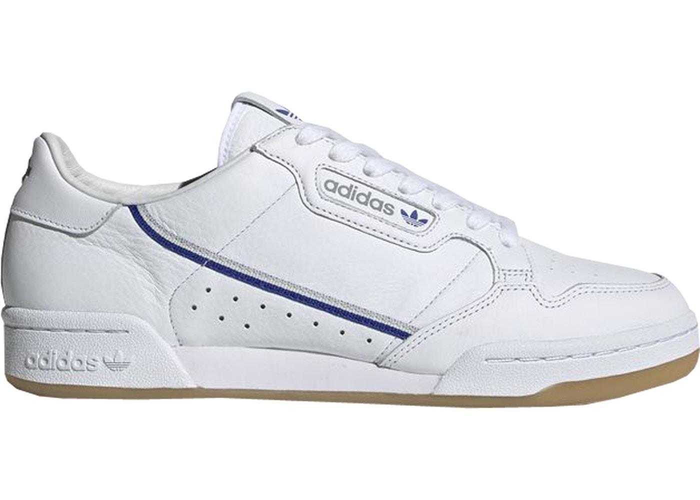 adidas Continental 80 TfL Elizabeth Line White Blue Grey