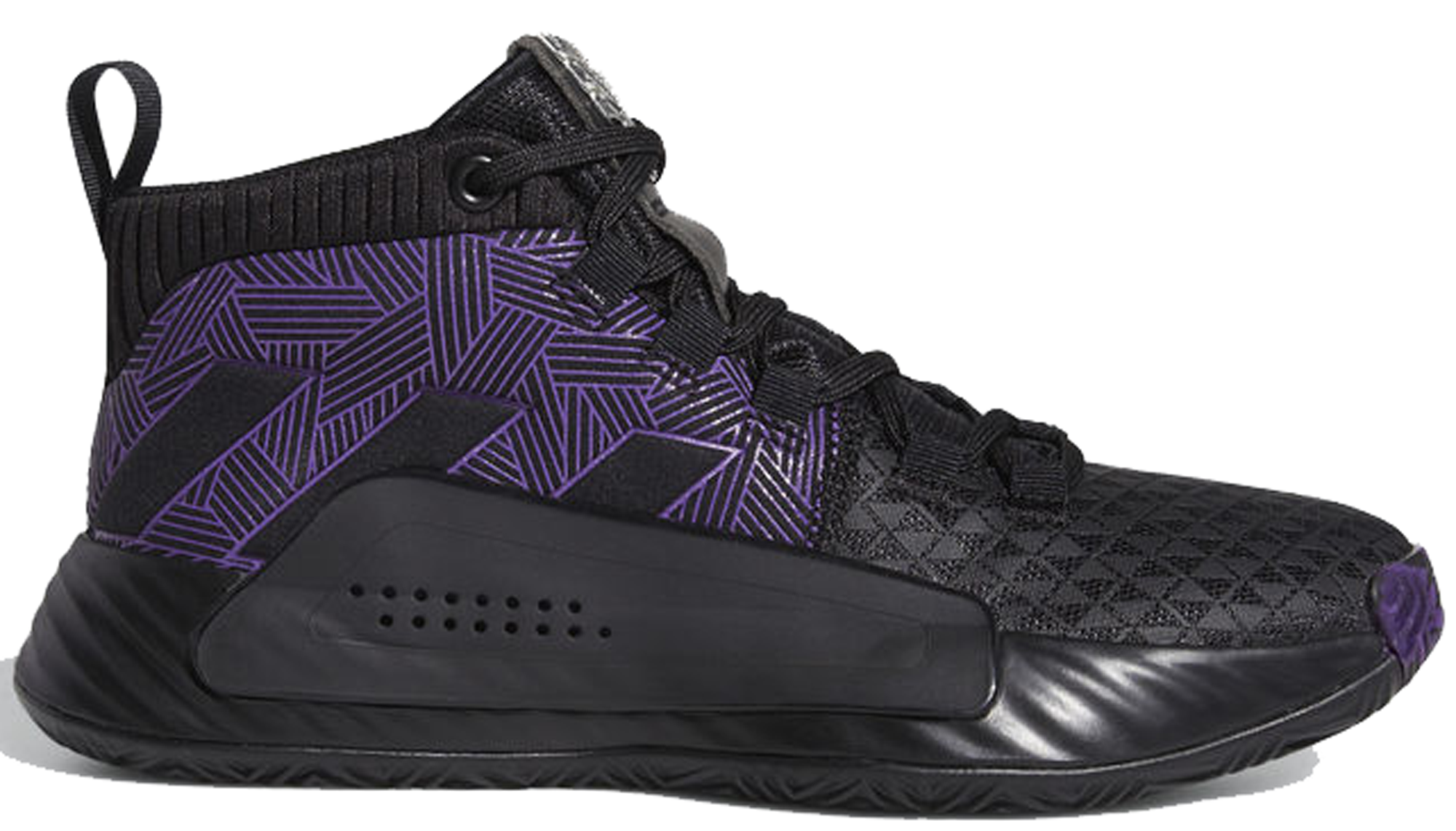 adidas Dame 5 Marvel Black Panther (GS)