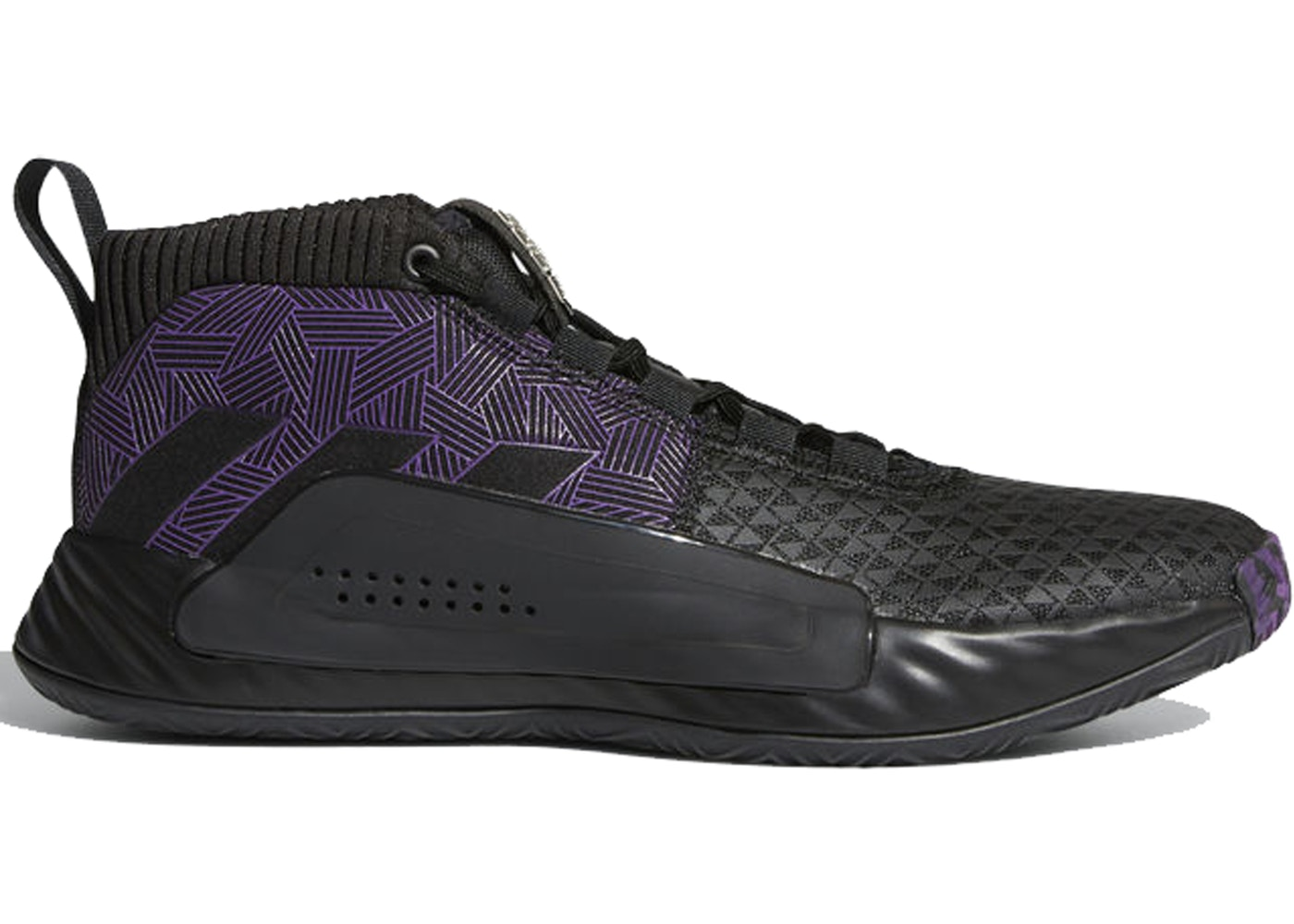3a97a02358 adidas Dame 5 Marvel Black Panther