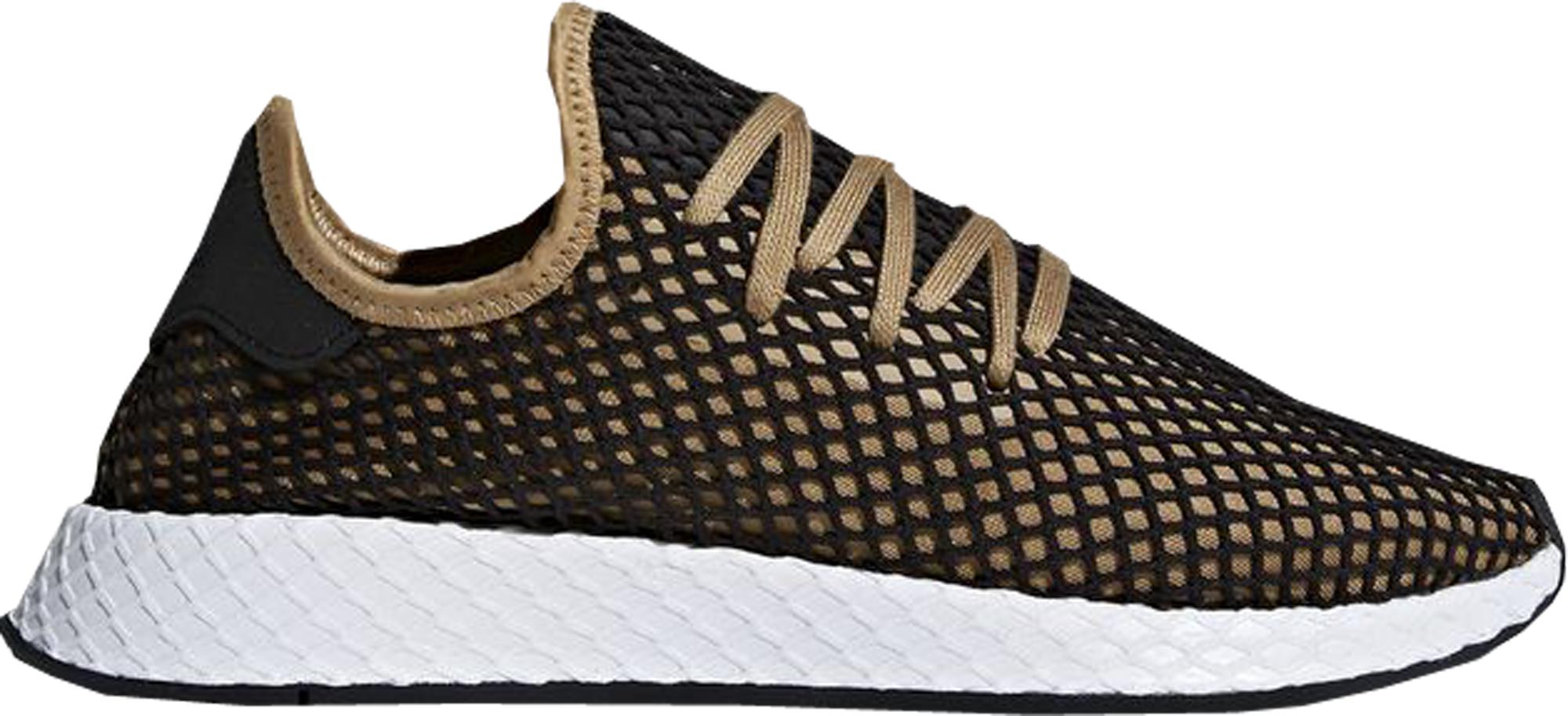 adidas deerupt black and gold|54% OFF