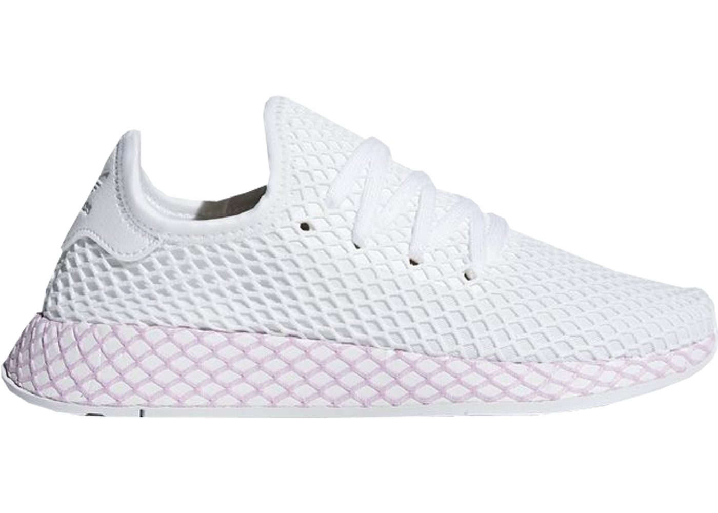 info for 3c7a2 4992c adidas Deerupt Cloud White Clear Lilac (W)