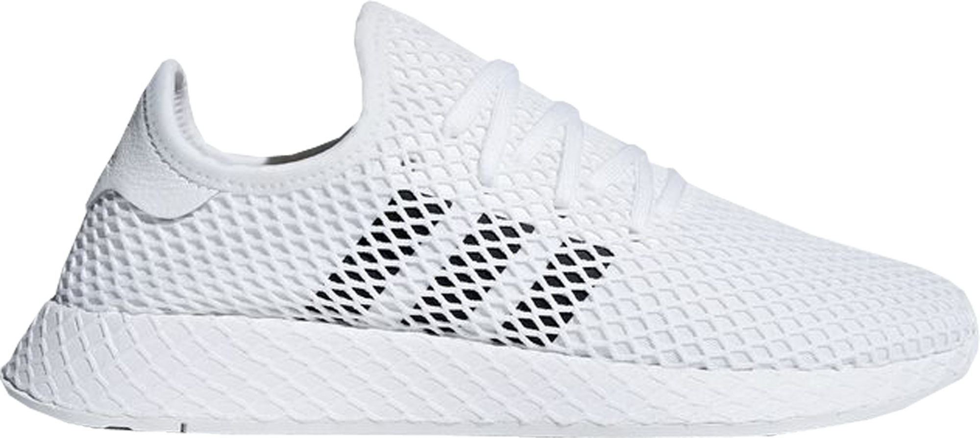 adidas Deerupt Cloud White Core Black Grey Two
