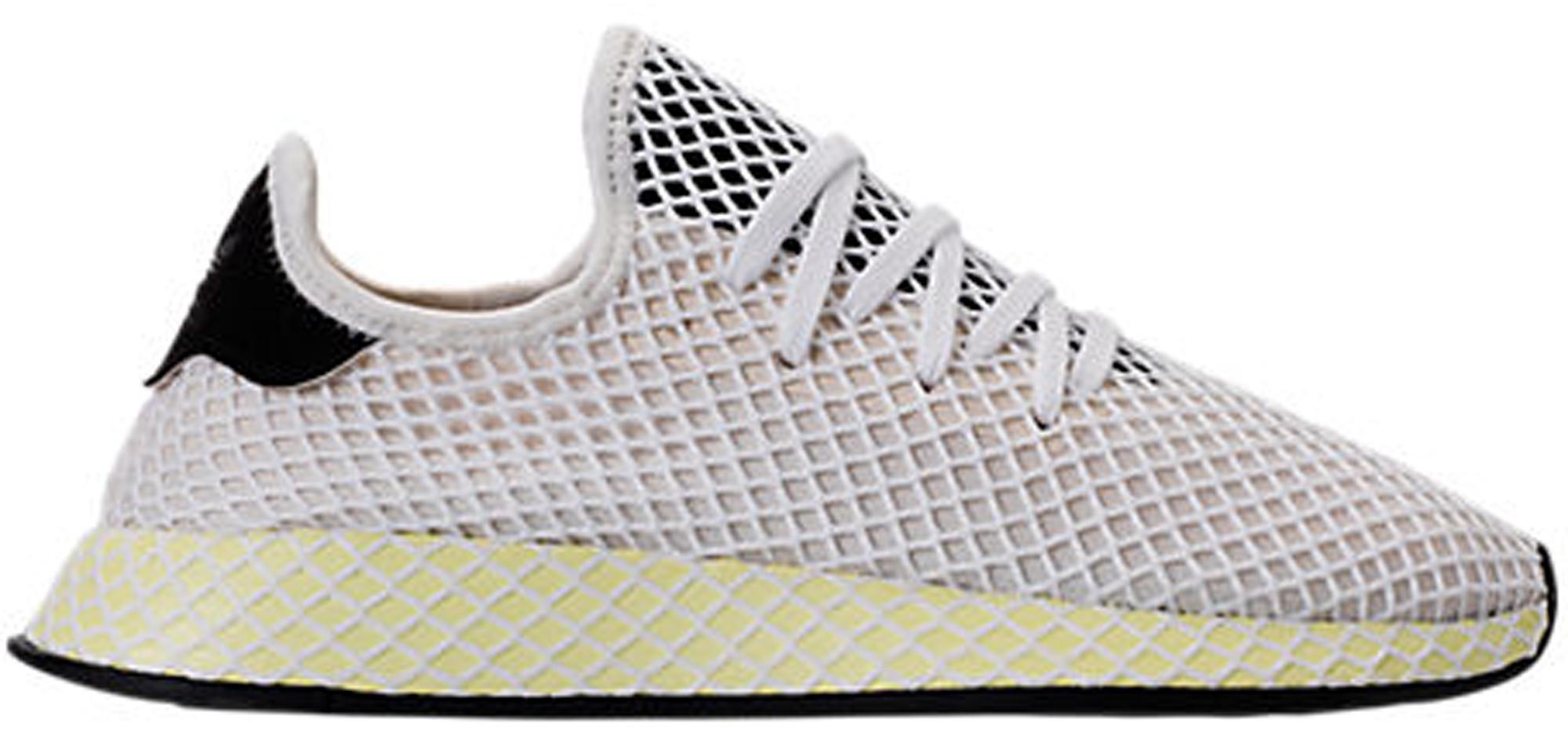 adidas Deerupt Muted Neons Chalk White