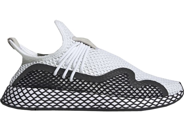 on sale 46406 abfb8 adidas Deerupt S Cloud White Core Black