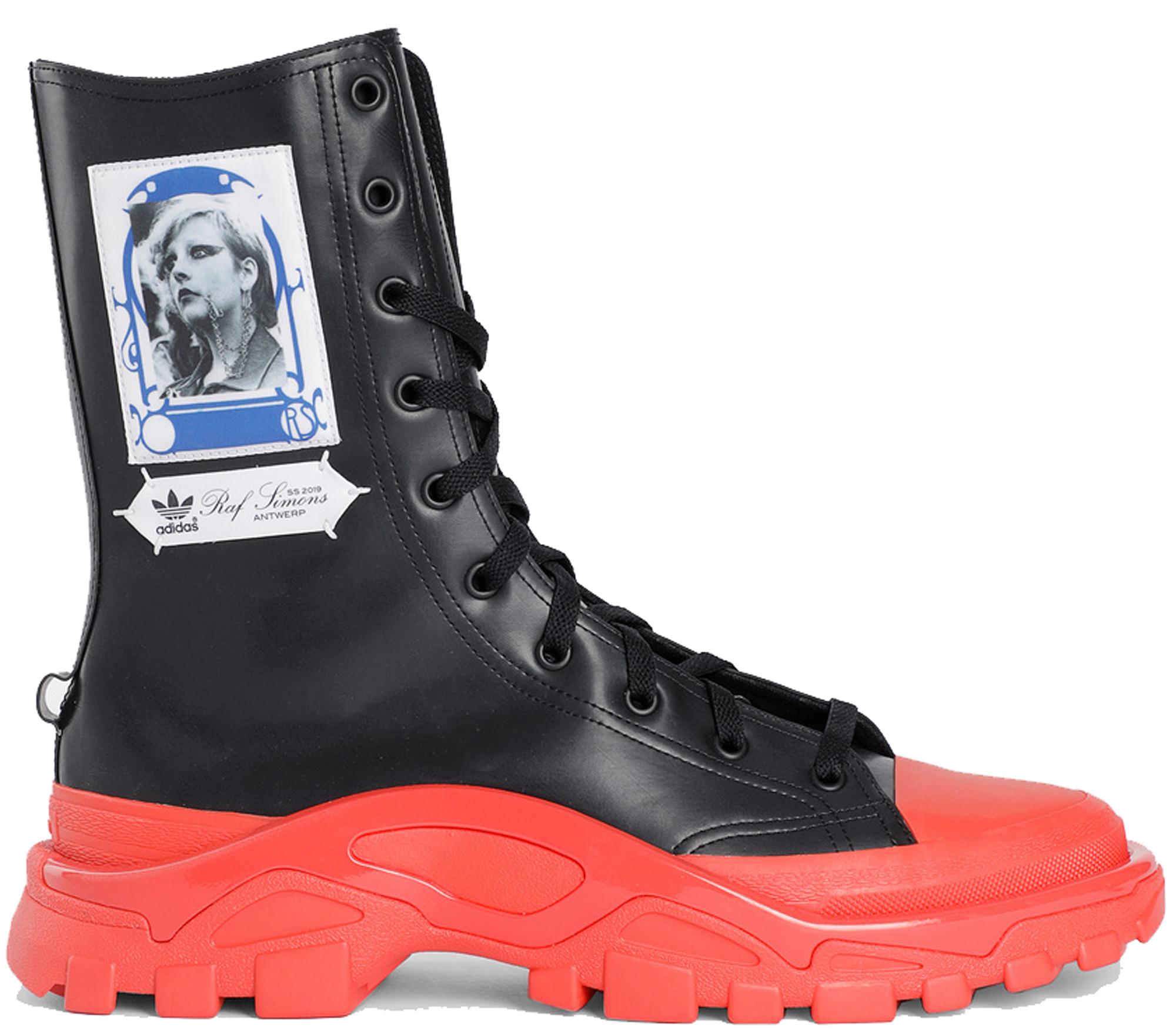 adidas Detroit High Raf Simons Black