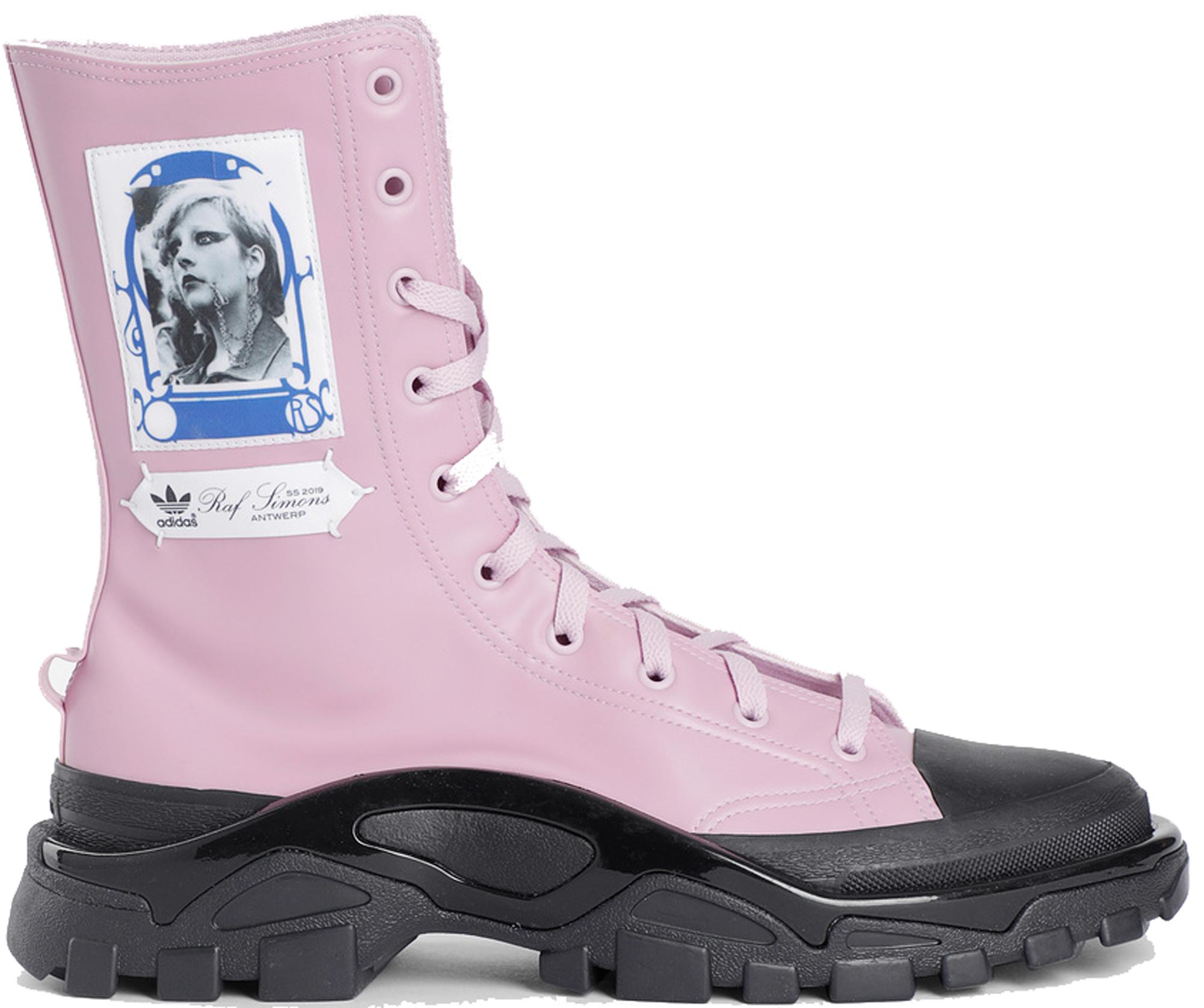 adidas Detroit High Raf Simons Pink Black