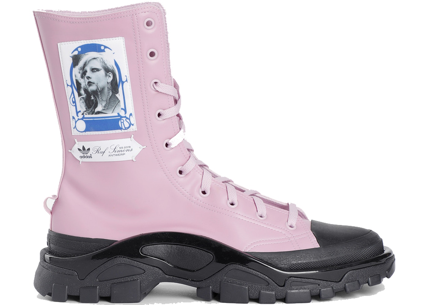 c7742533c837d0 Sell. or Ask. Size --. View All Bids. adidas Detroit High Raf Simons Pink  Black
