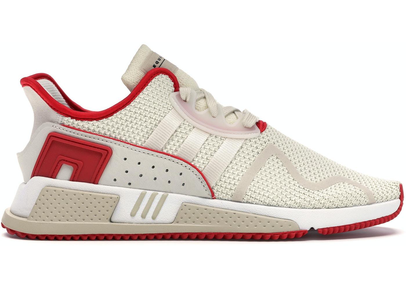new products 5367e ae31a adidas EQT Cushion Adv Off White Clear Brown Scarlet