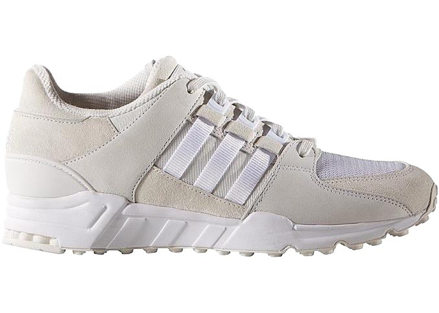 cute new lifestyle free delivery adidas EQT Running Support 93 Triple White