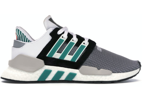 sports shoes 38ea2 e29ba adidas EQT Support 91/18 Core Black Sub Green