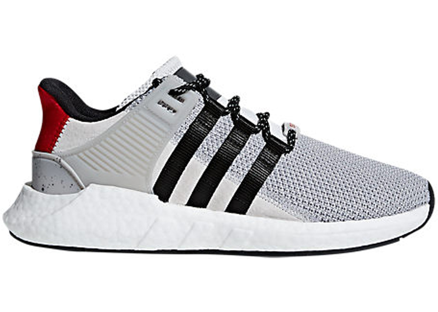 on sale 0e8b5 e7514 adidas EQT Support 93/17 Grey Black Scarlet