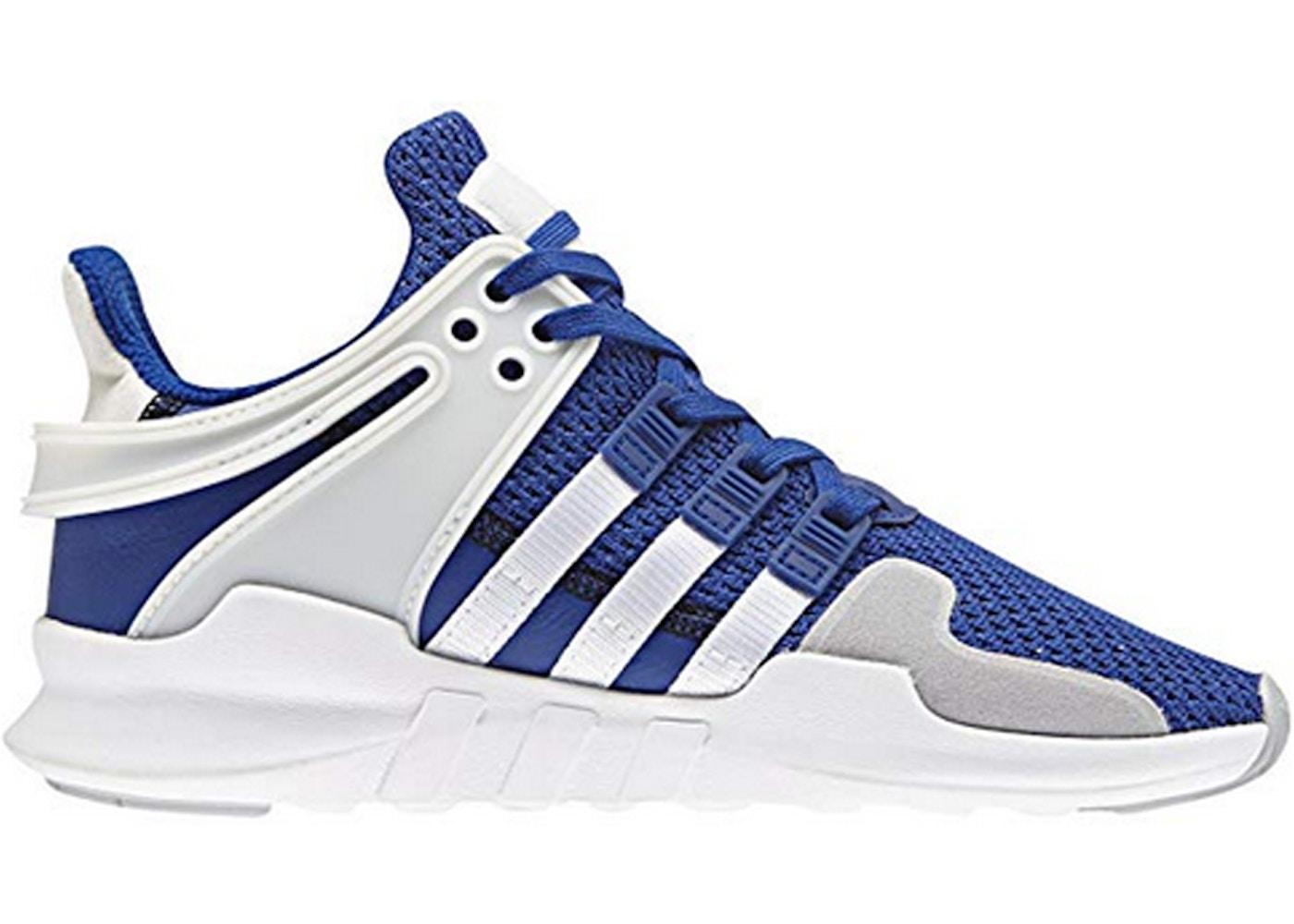 baño riñones Serrado  adidas EQT Support Adv Blue White (Youth) - CM8151