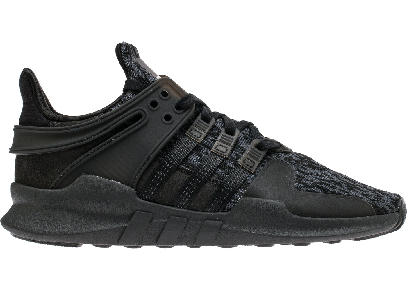huge discount 4a1e0 ca25f adidas EQT Support Adv Triple Black (GS)