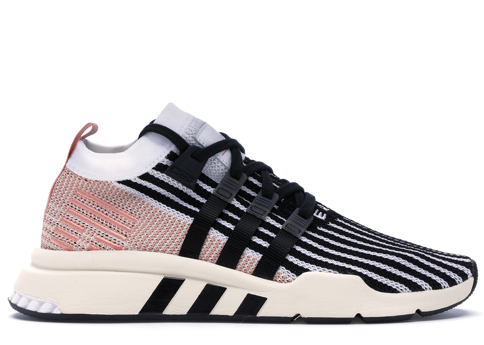 adidas EQT Support Mid ADV Core Black Trace Pink Releasing
