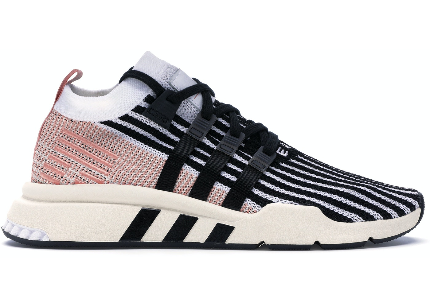 finest selection 2dd9f 736ce adidas EQT Support Mid Adv Core Black Trace Pink