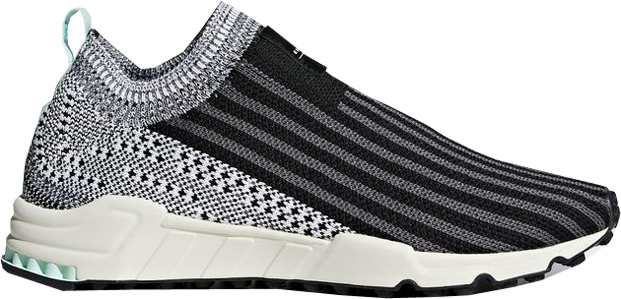 adidas EQT Support Sock Black White Clear Mint (W)