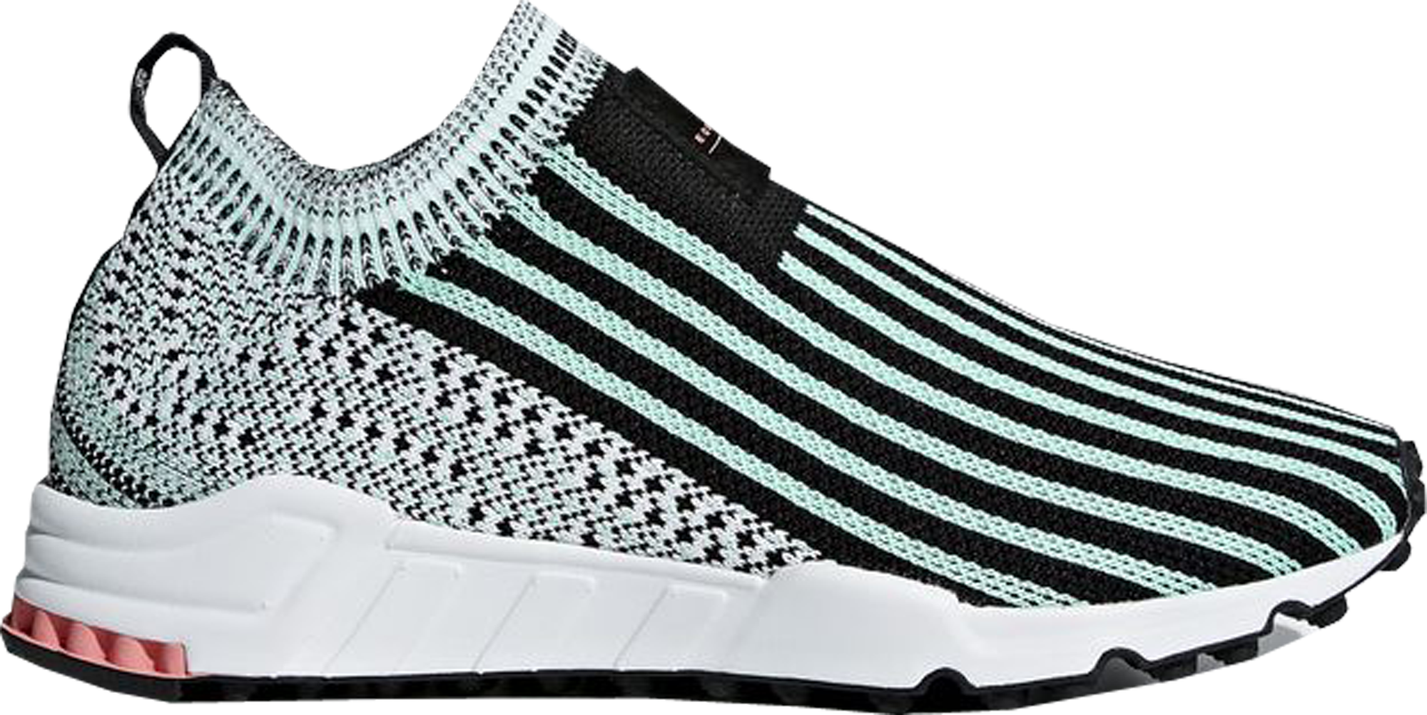 adidas EQT Support Sock Core Black Clear Mint (W)