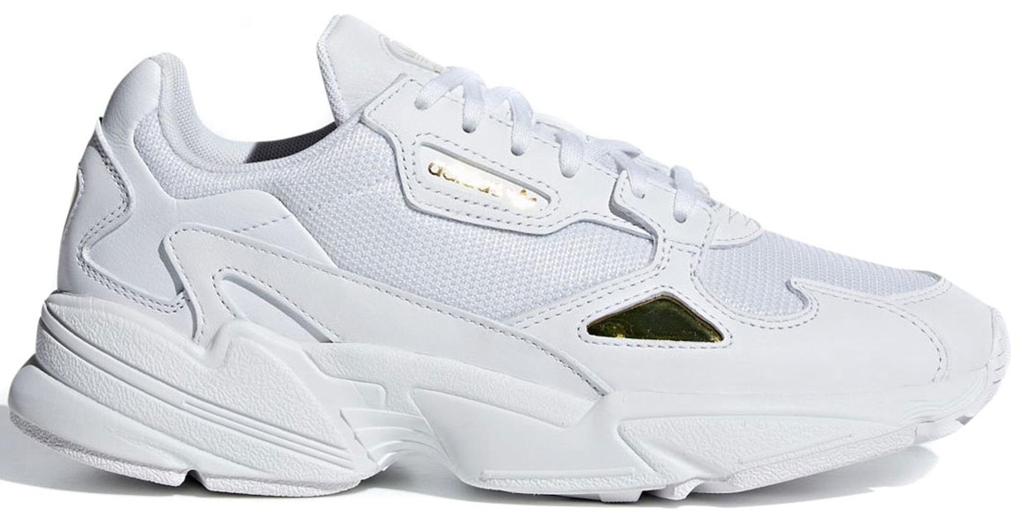 adidas Falcon Cloud White Gold Metallic