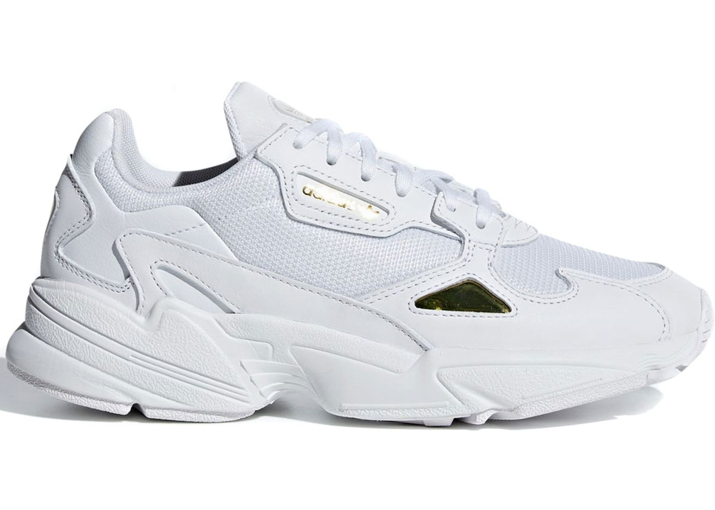 adidas falcon cloud white