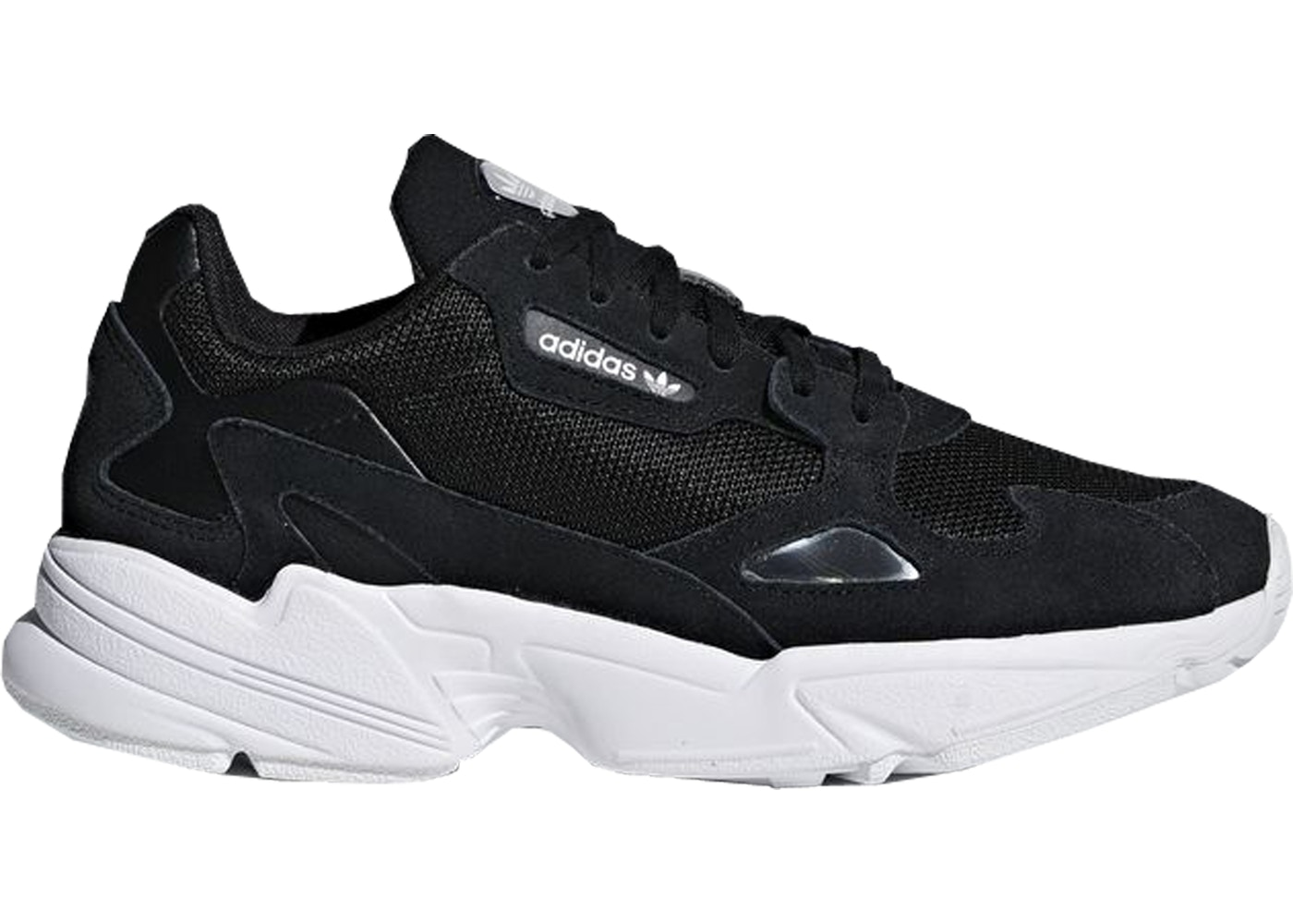 adidas Falcon Core Black Cloud White (W)