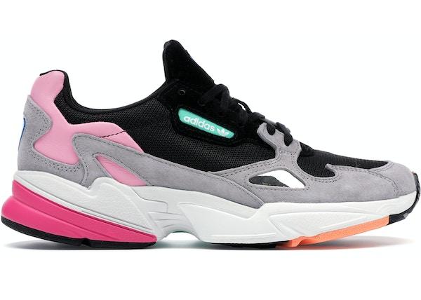 sneakers for cheap be108 2b7b1 adidas Falcon Core Black Light Granite (W) - BB9173