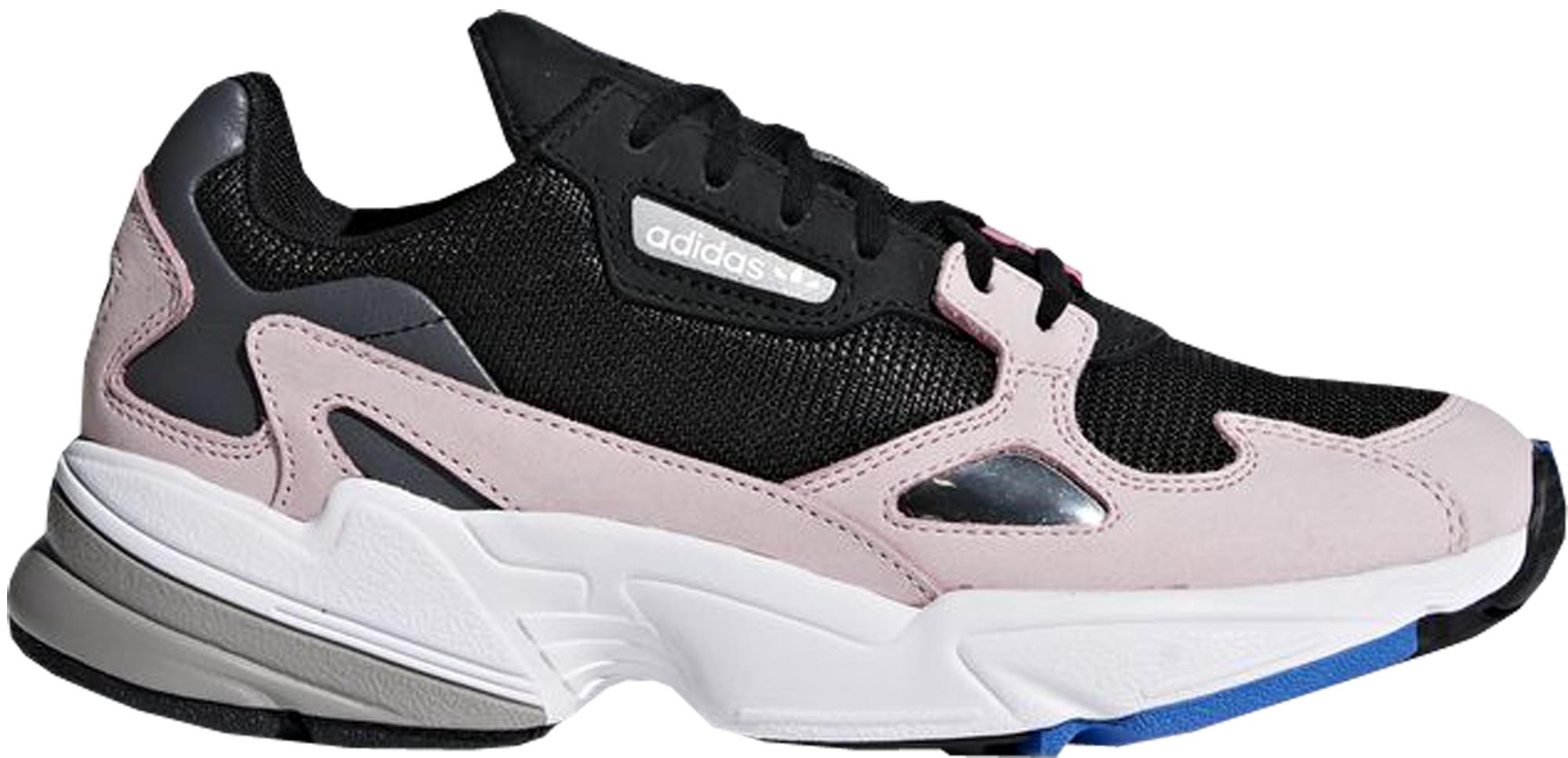 adidas Falcon Core Black Light Pink (W