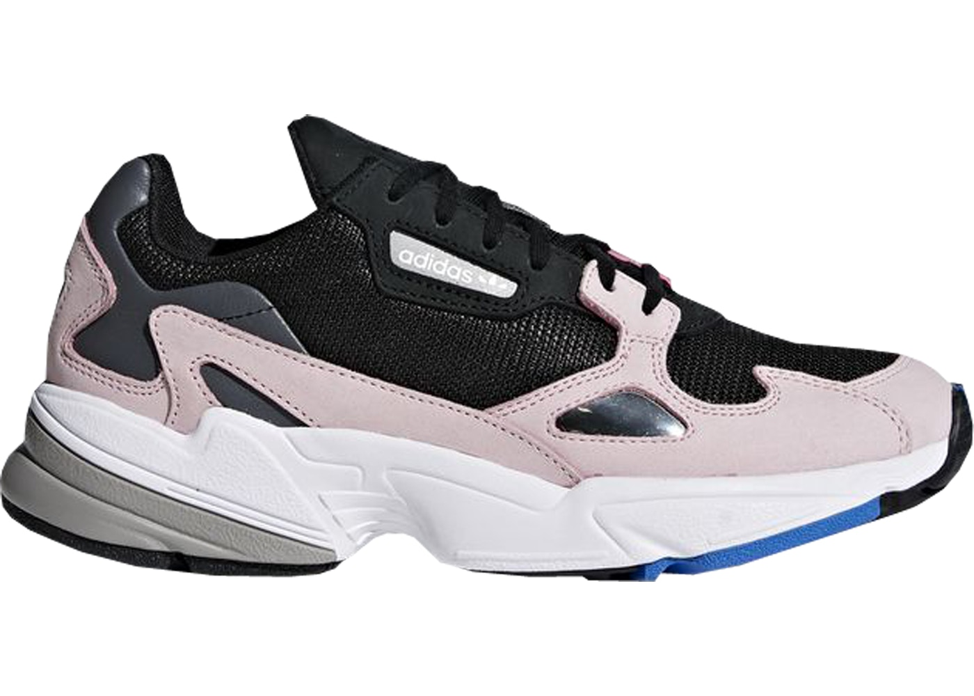 97cf8cf337b adidas Falcon Core Black Light Pink (W) - B28126