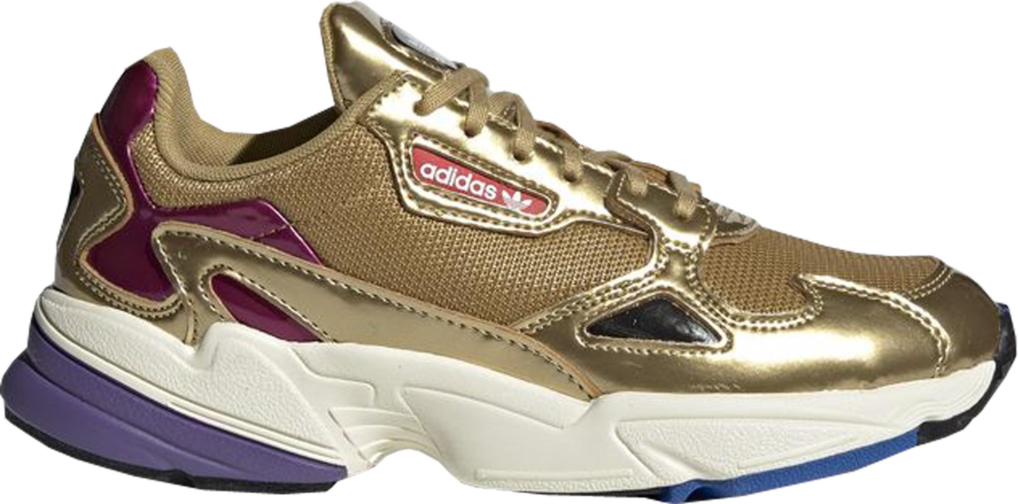 adidas Falcon Gold Metallic (W) - CG6247