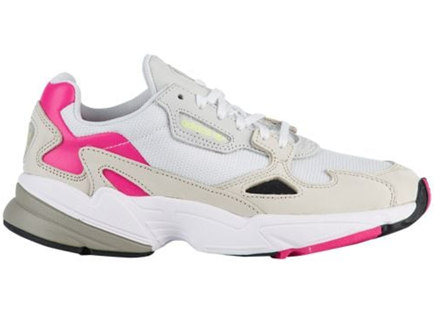 nice shoes factory authentic best selling adidas Falcon Grey Pink (W)