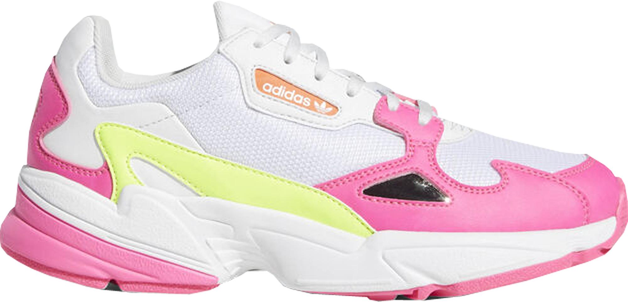 adidas Falcon Shock Pink Solar Yellow
