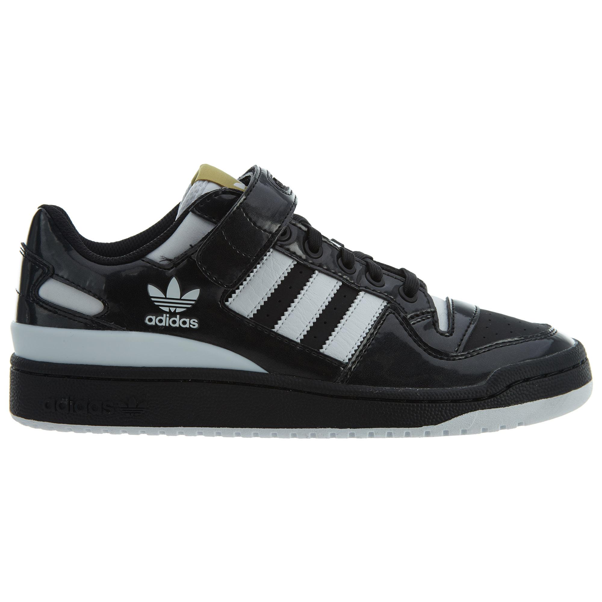 adidas forum low black