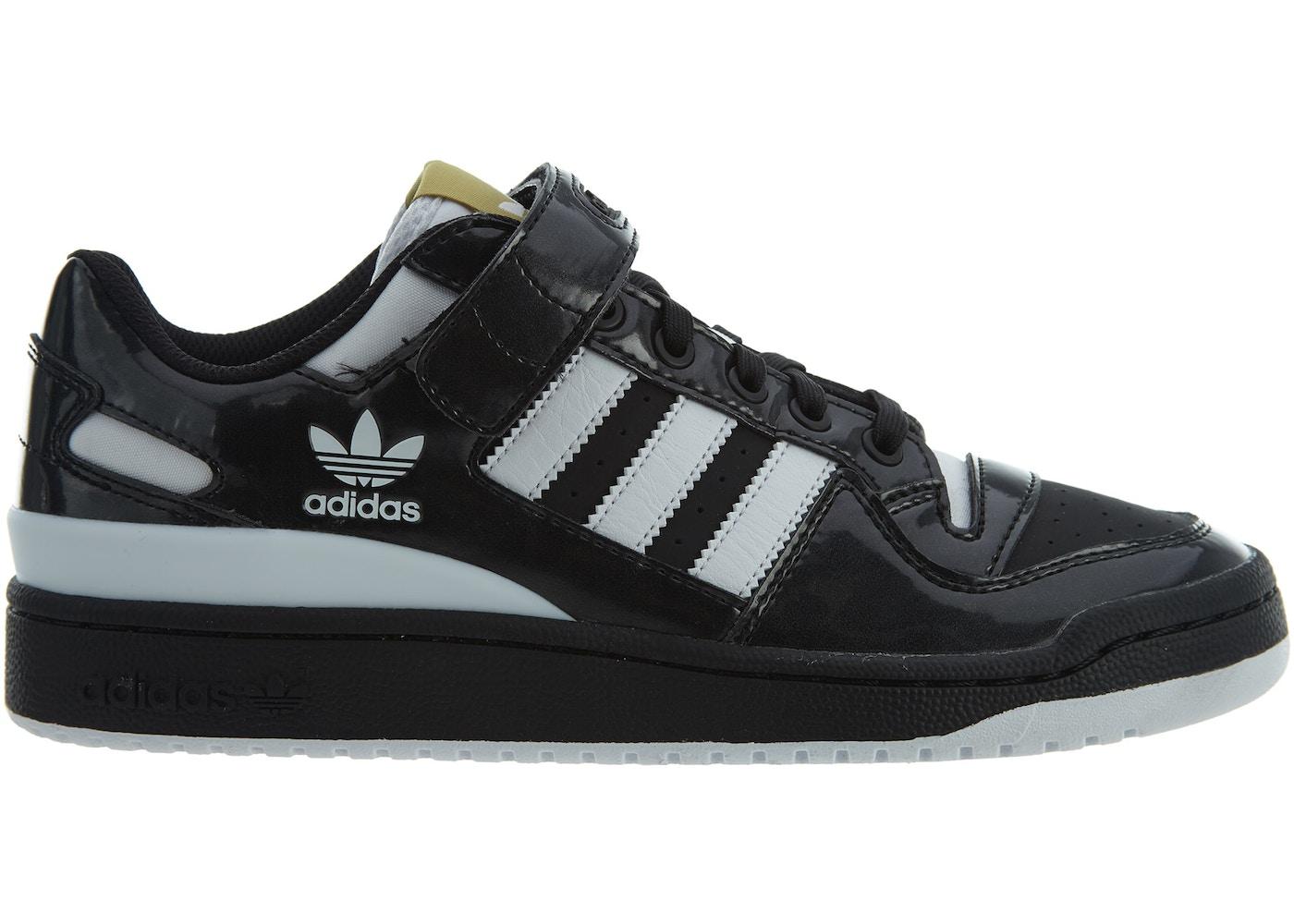 b5c5069cd87 adidas Forum Lo Black White-Gold Metallic - BY4155